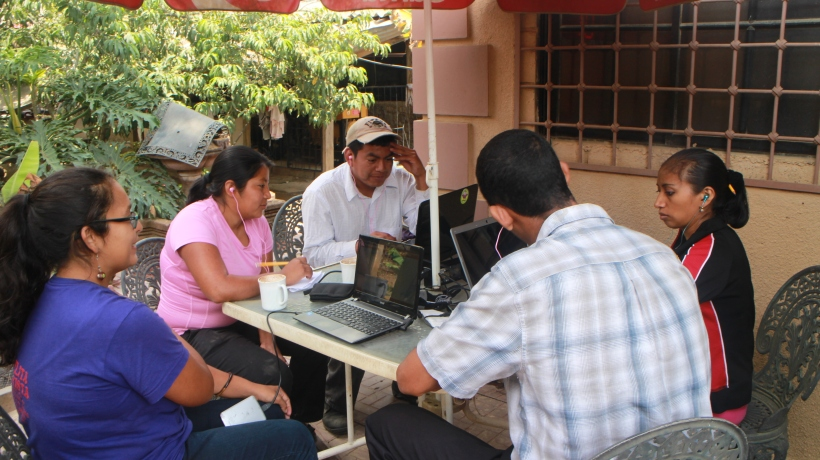 The internet cafe in La Esperanza tht saved the day with their generator and excellent mochas.